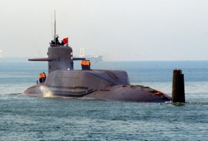 Type 094 Jin Class Nuclear-Powered Ballistic Missile Subm 0-94 sub