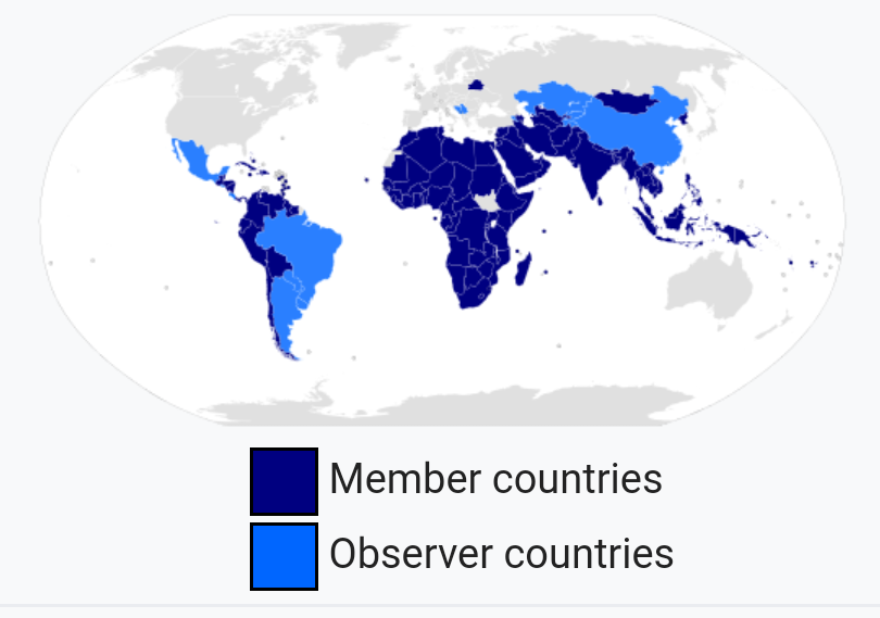 Image result for non aligned nations